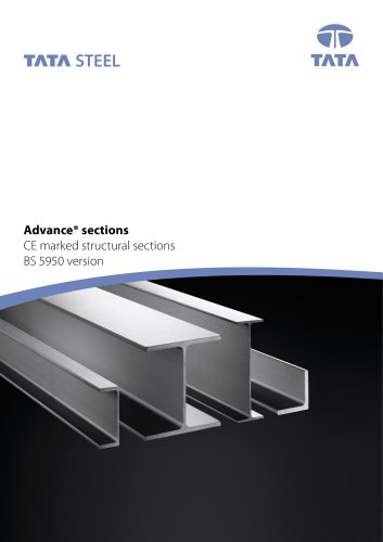 Advance sections - BS5950 Version