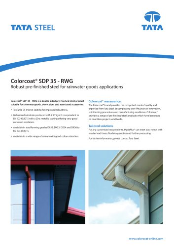 Colorcoat®SDP 35 - RWG