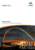Hollow Sections: For structural and mechanical applications