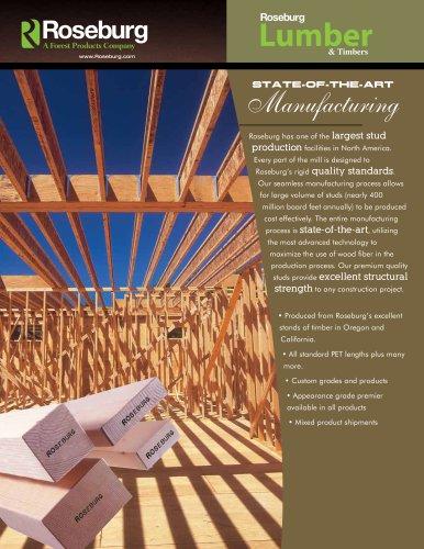 Lumber Studs & Timbers
