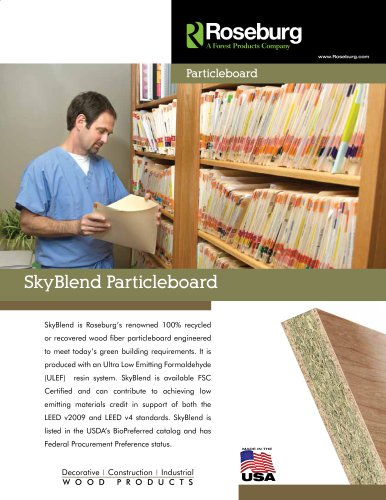 Skyblend Particleboard PIB