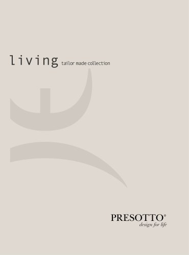 Presotto Living 2015