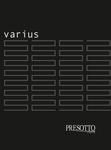 Varius Walk-in-closet system