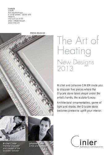 New CINIER Design 2013