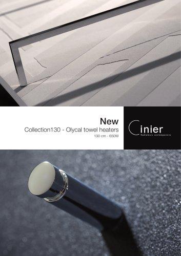 New Olycal towel warmers 130.