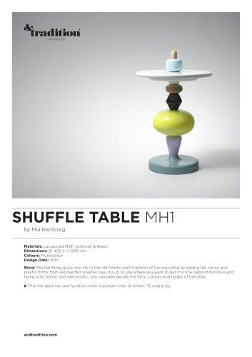 Shuffle Table MH1 info