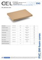PVC 200 foam core