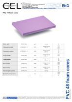 PVC 48 foam cores