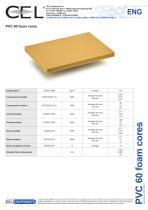 PVC 60 foam core