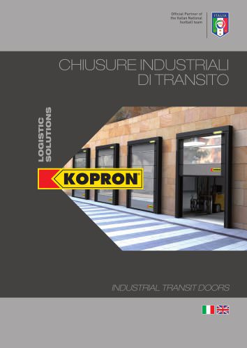 Industrial transit doors