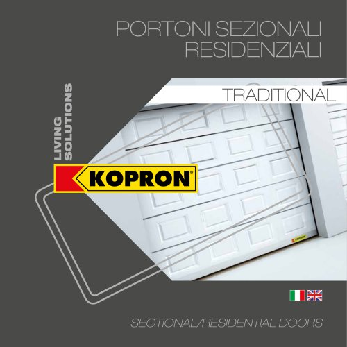 SECTIONAL/RESIDENTIAL DOORS - TRADITIONAL