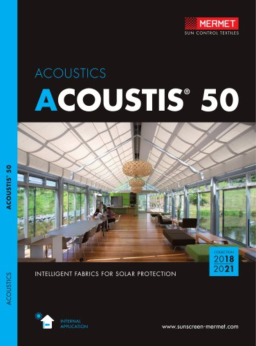 Acoustics Mermet Pdf Catalogs Documentation Brochures