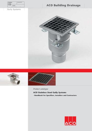 Stainless Steel Gully Systems