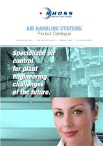 Air handling systems - 1