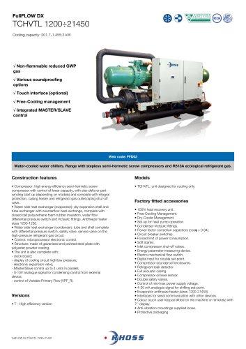 FullFLOW DX TCHVTL 1200÷21450