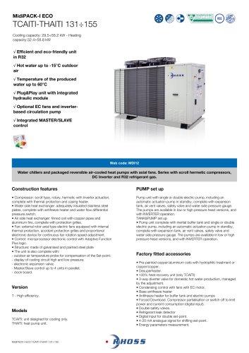 MidiPACK-I ECO TCAITI-THAITI 131÷155