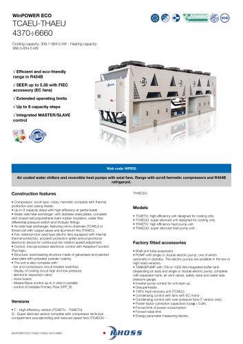 WinPOWER ECO TCAEU-THAEU 4370÷6660