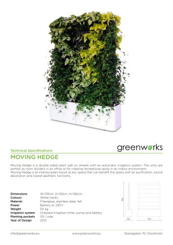 Greenworks living furnitures