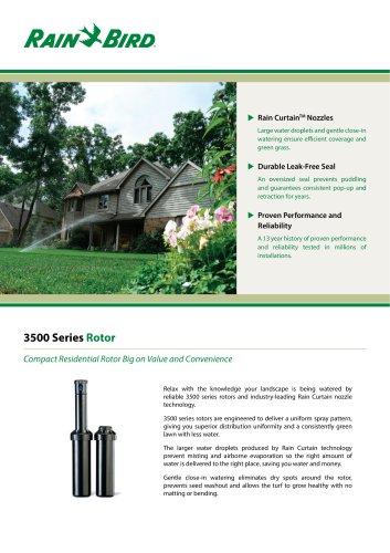 3500 Series Rotor