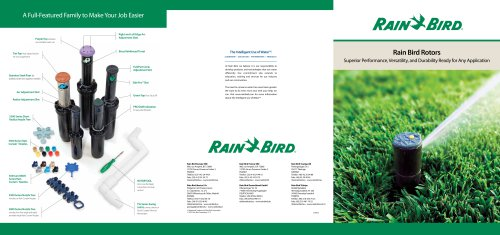 Rain Bird Rotors