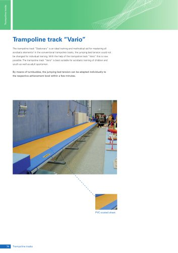 "Trampoline Track ""Vario"""