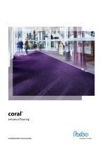 Coral entrance flooring