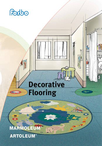 Decorative Linoleum Flooring