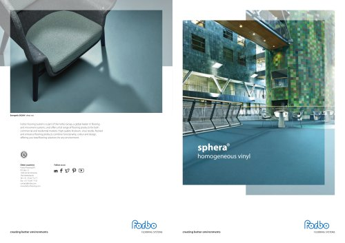 Sphera® homogeneous vinyl