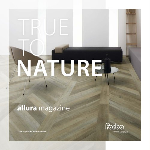 TRUE TO NATURE allura magazine