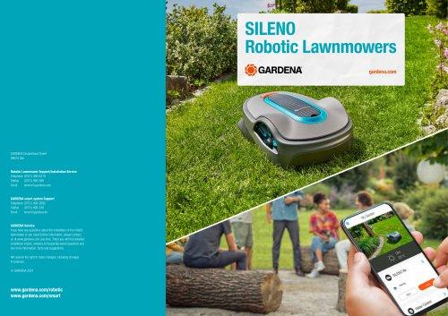 SILENO Robotic Lawnmowers
