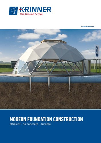 Modern Foundation Construction