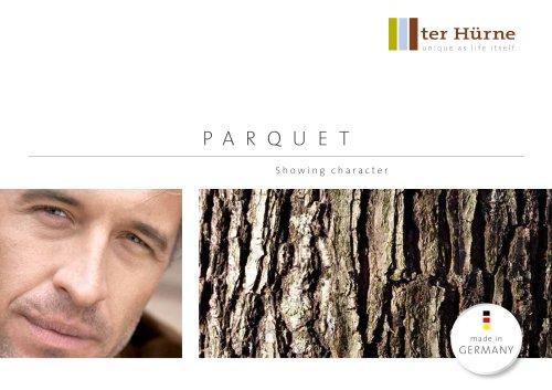Parquet floors catalogues 2015