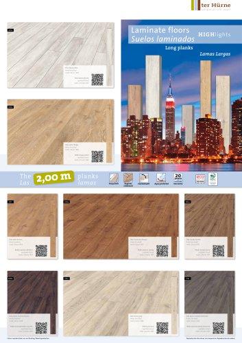 Poster Laminate floors long plank