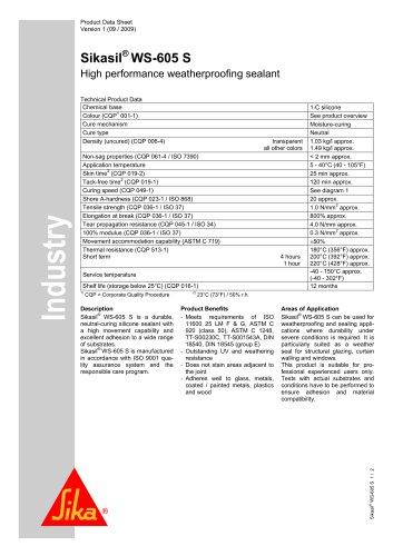 Sikasil® WS-605 S