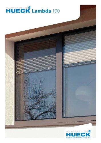 HUECK Lambda 100 - Composite Window