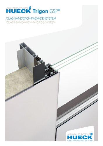 HUECK Trigon GSP - Glass-Sandwich-Façade-System