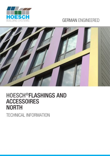 HOESCH®FLASHINGS AND ACCESSOIRES NORTH