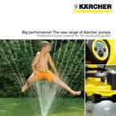 The new range of Kä̈rcher pumps.