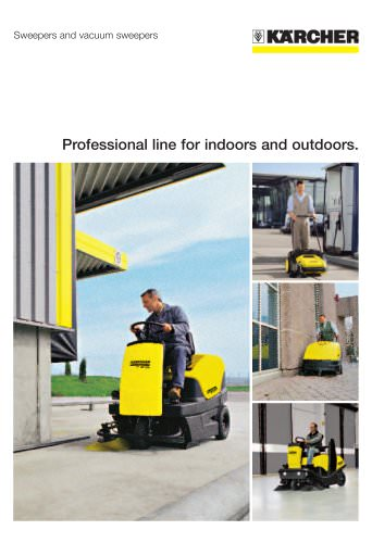 Professional line for indoors and outdoors