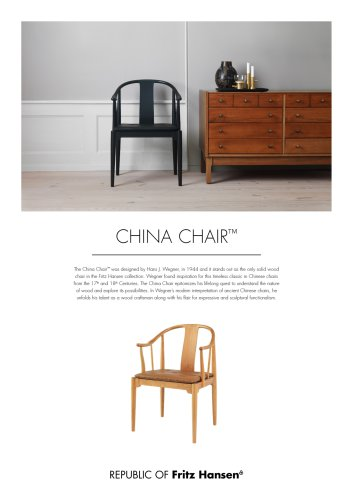 CHINA CHAIR™