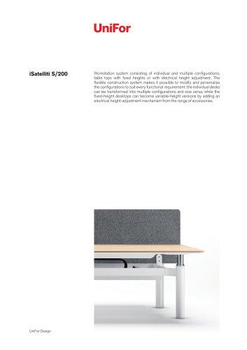 Uni For Designi Satelliti S/200