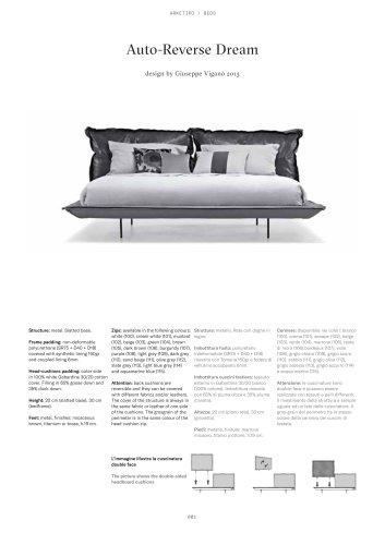 Auto-Reverse Dream design by Giuseppe Viganò 2013