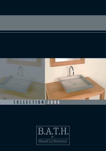 Catalogue of Bathroom Furniture