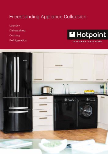 Free standing appliances