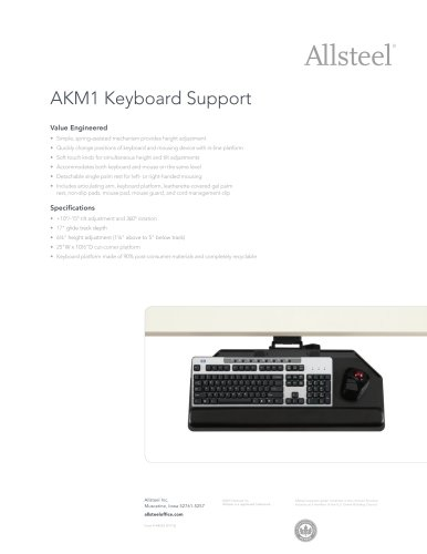 AKM1 Keyboard Support