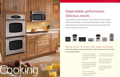 Kitchen-Cooking Brochure