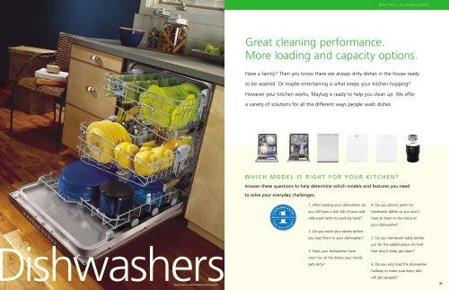 Kitchen-Dishwasher, Disposer Brochure