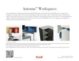 Antenna workspaces - 16