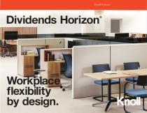 Dividends Horizon® : Workplace fexibility by design. - 1