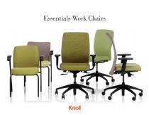 Essentials Work Chairs Brochure - 1